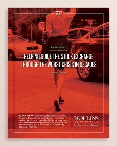 Hollins University – 'Going Places' Campaign